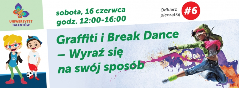 Graffiti i Break Dance w Galerii Solnej!