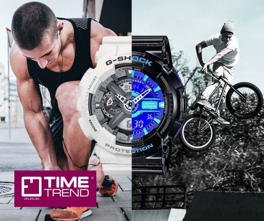 TIME TREND | G-Shock