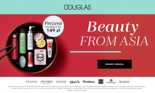 DOUGLAS: BEAUTY FROM ASIA