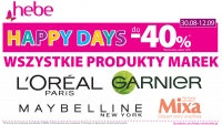 Happy Days do-40% w Hebe!