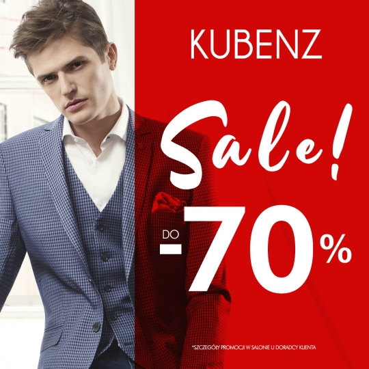 KUBENZ - SALE DO -70%
