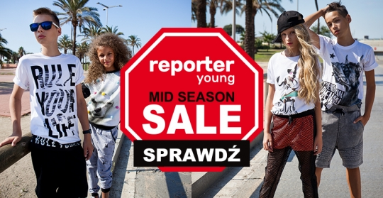 MID SEASON SALE! Rabaty do -60%